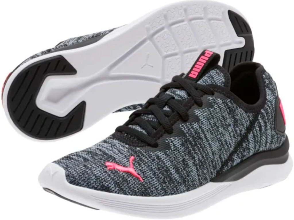 Ballast Women's Running Shoes in pink and black