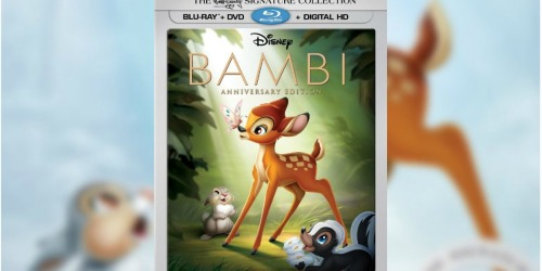 Bambi Blu-ray + DVD + Digital HD Only $7.49 at Best Buy (Regularly $30) + More
