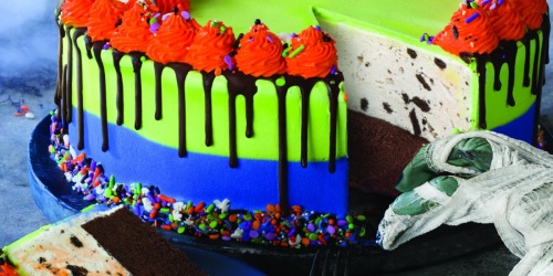 Baskin-Robbins Just Introduced Line-Up of Halloween Ice Cream Treats Including Ghost Cake