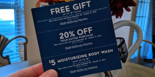 New Bath & Body Works Coupon Booklet w/ FREE Item Offers | Check Your Mailbox