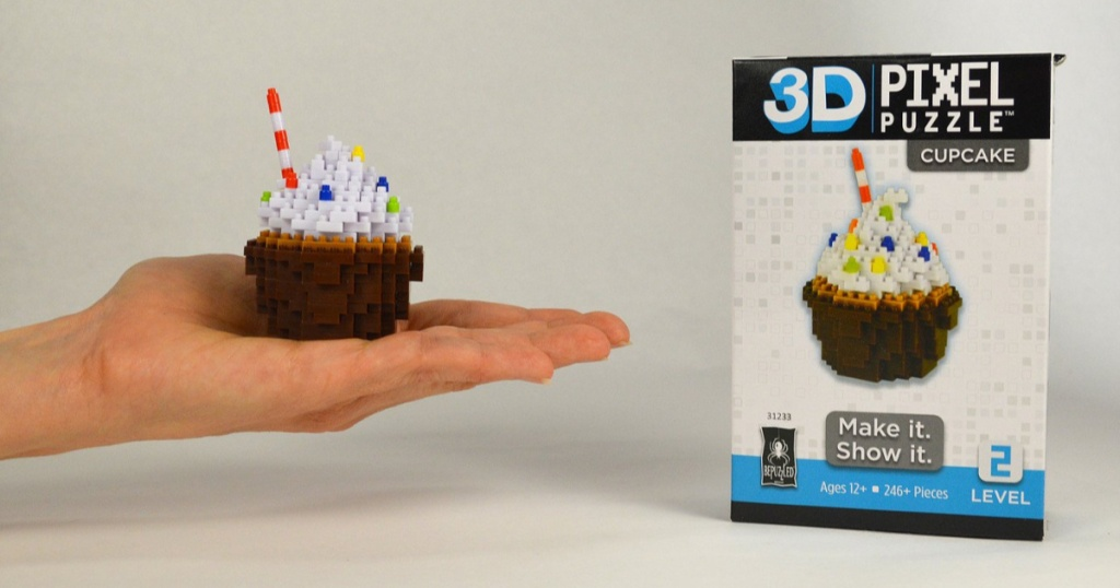 bepuzzled cupcake puzzle