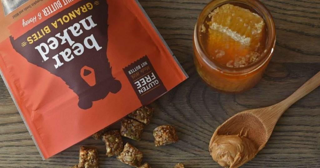 Bear Naked Granola Bites Peanut Butter and Honey