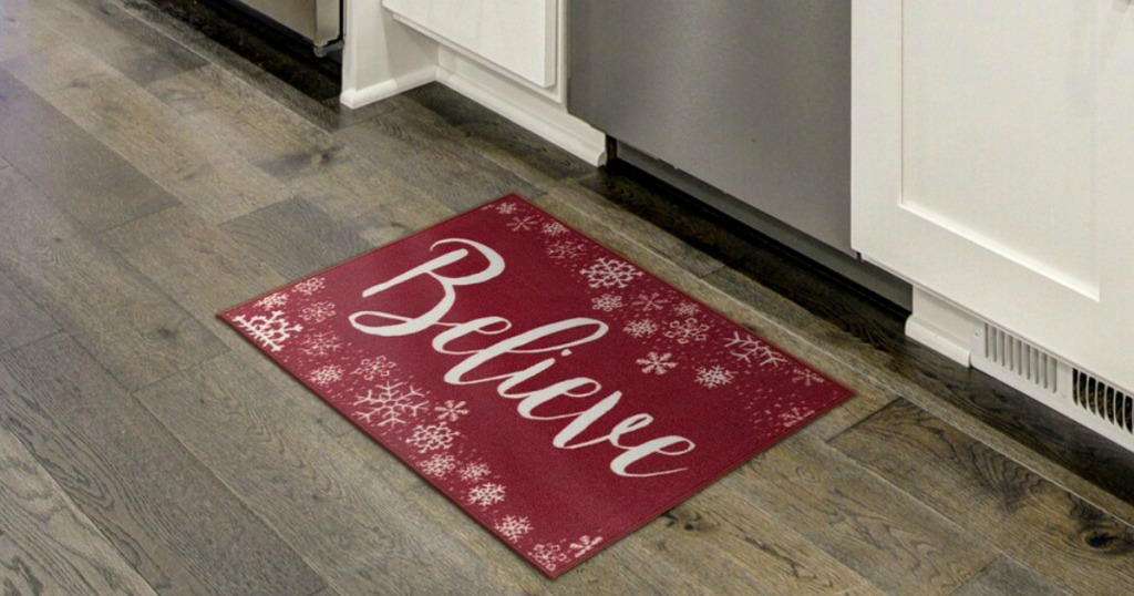 Believe Accent Rug on floor