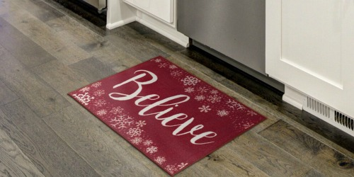Christmas Accent Rugs as Low as $4.19 Shipped at Kohl's (Regularly $18)