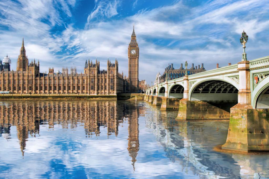 Big Ben and the Westminster Bridge