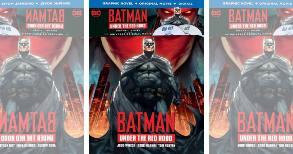 Batman Under The Hood DVD with Graphic Novel