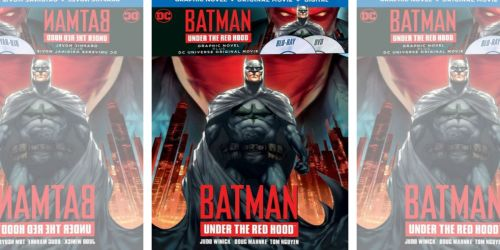 Batman Blu-ray Movie & Graphic Novel Only $9.99 at Best Buy (Regularly $23) + More