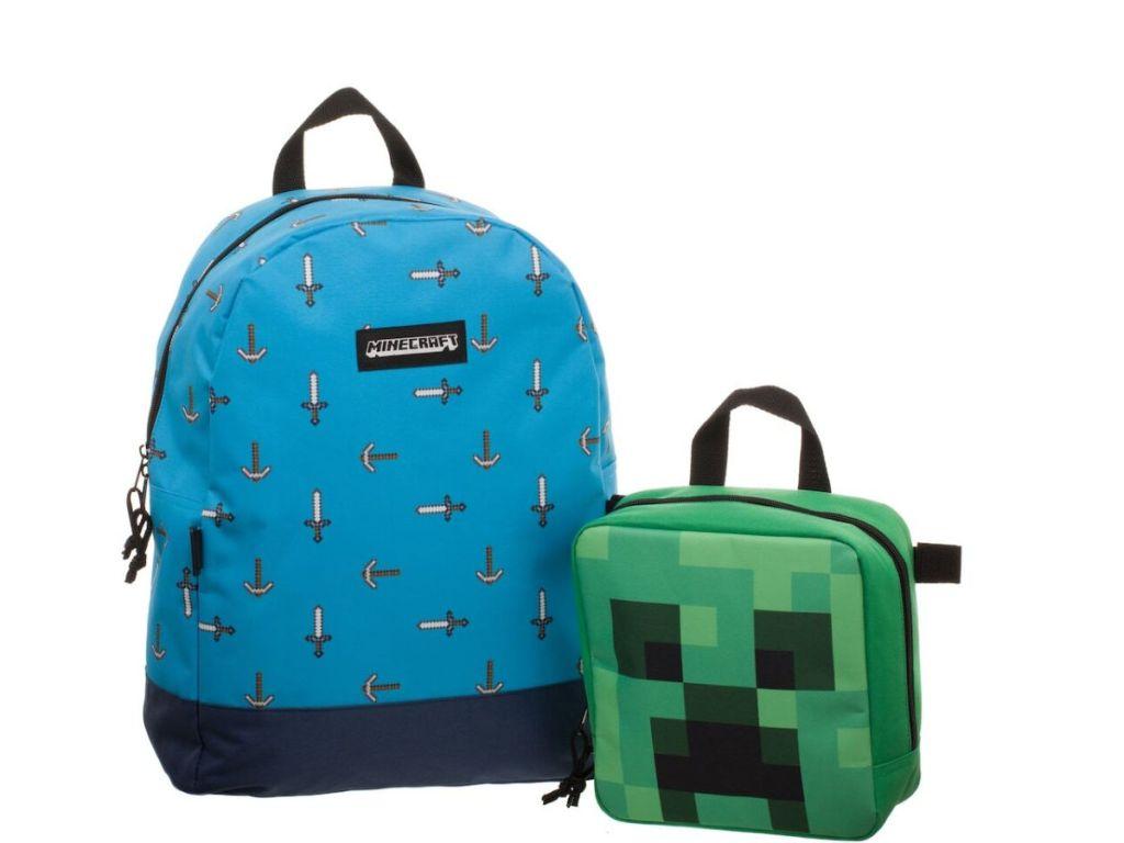 Kids minecraft backpack
