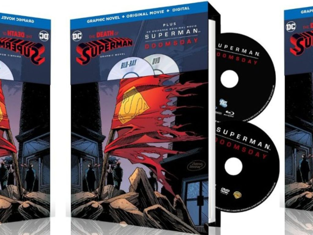 Super DVD with Graphic Novel