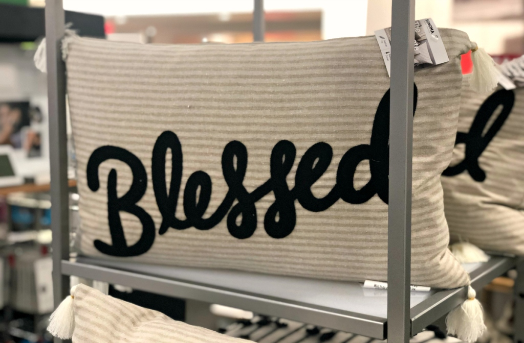 Blessed Farmhouse Pillow at Kohl's