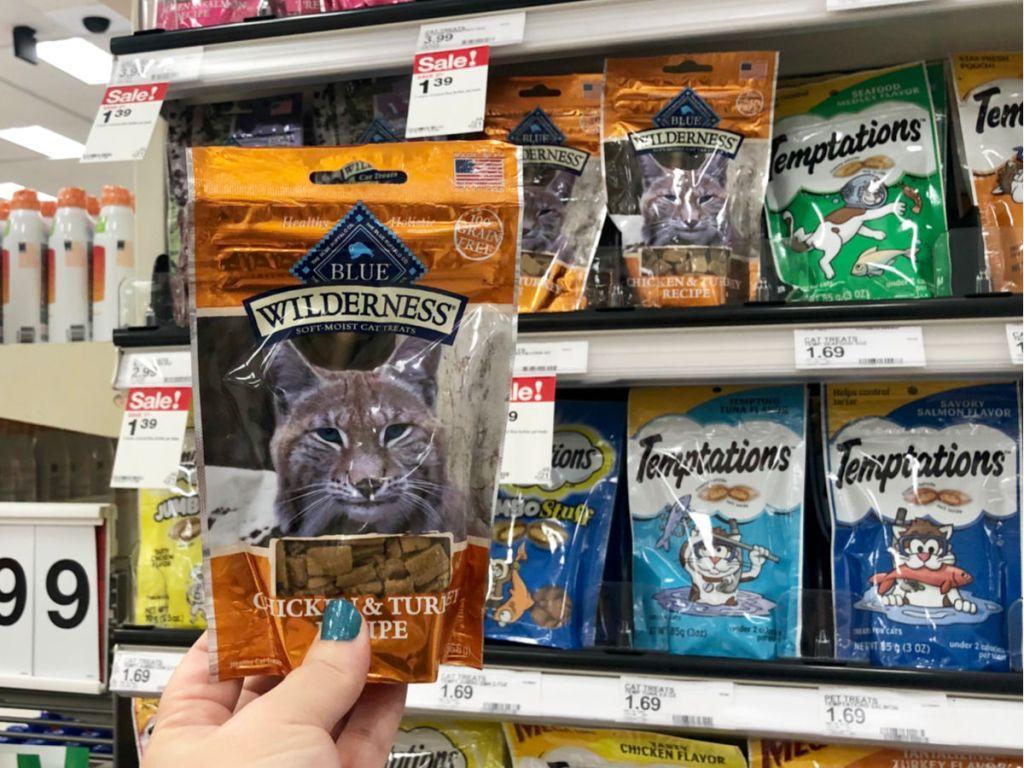Blue Buffalo Cat Treat in target