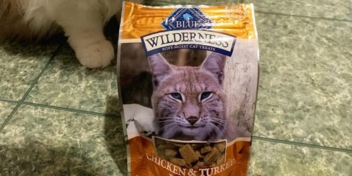 Up to 80% Off Blue Buffalo Wilderness Cat Treats at Amazon