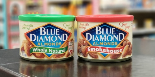 Blue Diamond Almonds Cans as Low as $2.29 Each at Walgreens | In-Store & Online