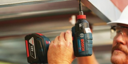 Bosch 18V Impact Driver w/ 2 Batteries Only $129.50 Shipped (Regularly $259)