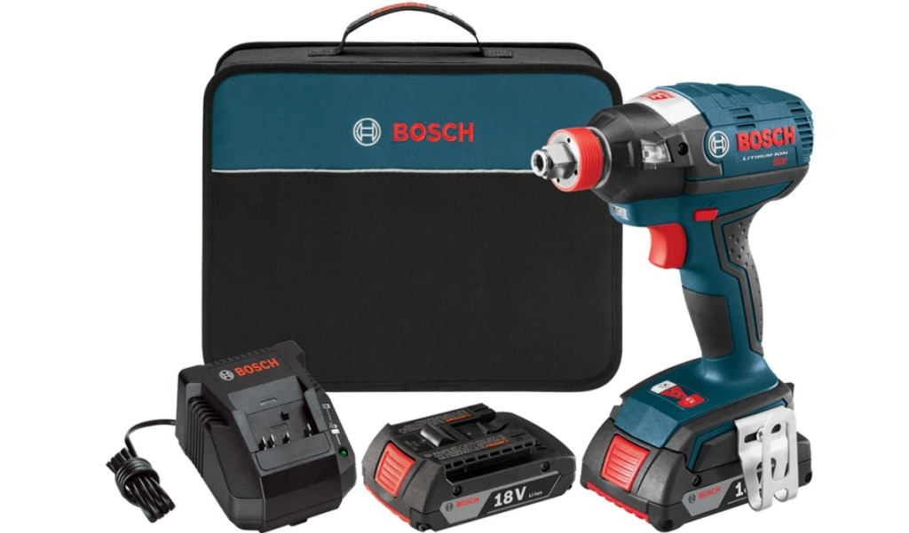 Bosch Freak Impact Driver with Case and Batteries