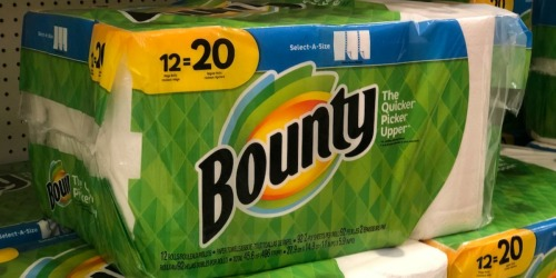 Bounty Paper Towel Mega Roll 12-Packs as Low as $11.36 Each After Target Gift Card