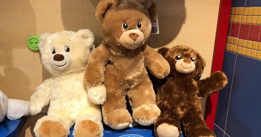 Build A Bear Bears