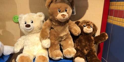 Furry Friends Only $13 at Build-A-Bear (Regularly up to $35)
