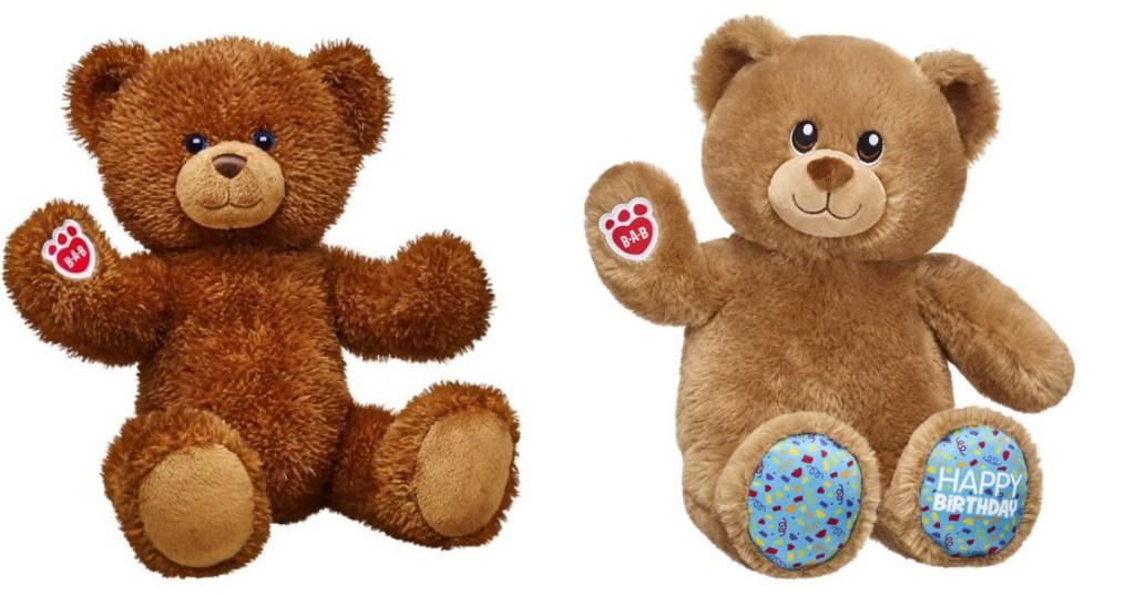 Build A Bear Birthday Bears
