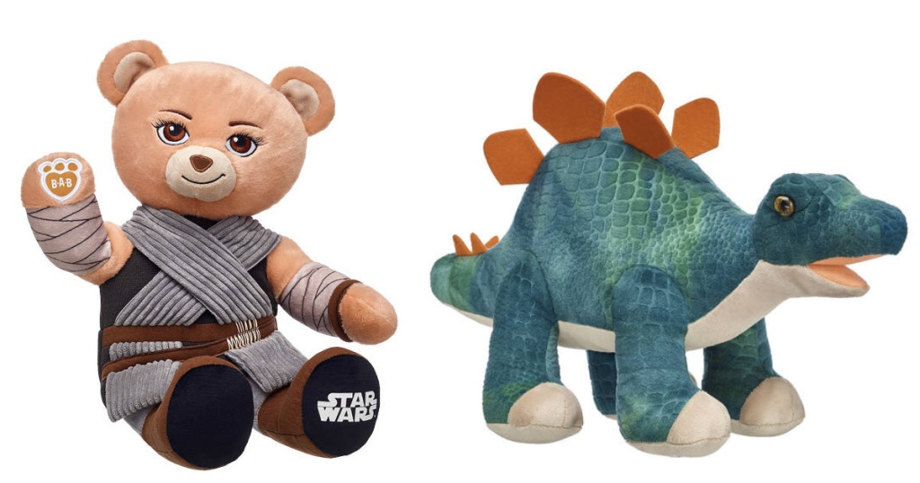 Build a Bear furry friends