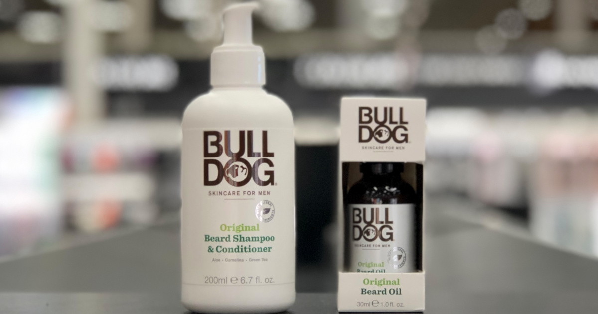 Bulldog Beard Products at Target