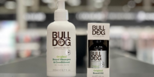 50% Off Bulldog Beard Care Products at Target