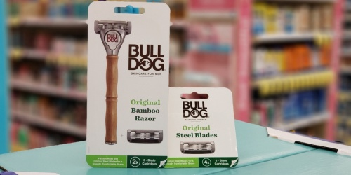 BullDog Razor or Refills Just $1.99 (Regularly $10+) at Walgreens | In-Store & Online