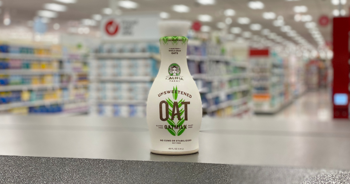 califia oat milk on shelf at target