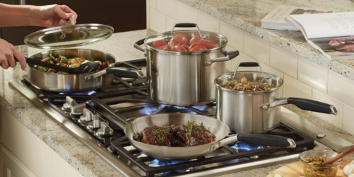 Up to 50% Off Calphalon Cookware Sets  + Free Shipping