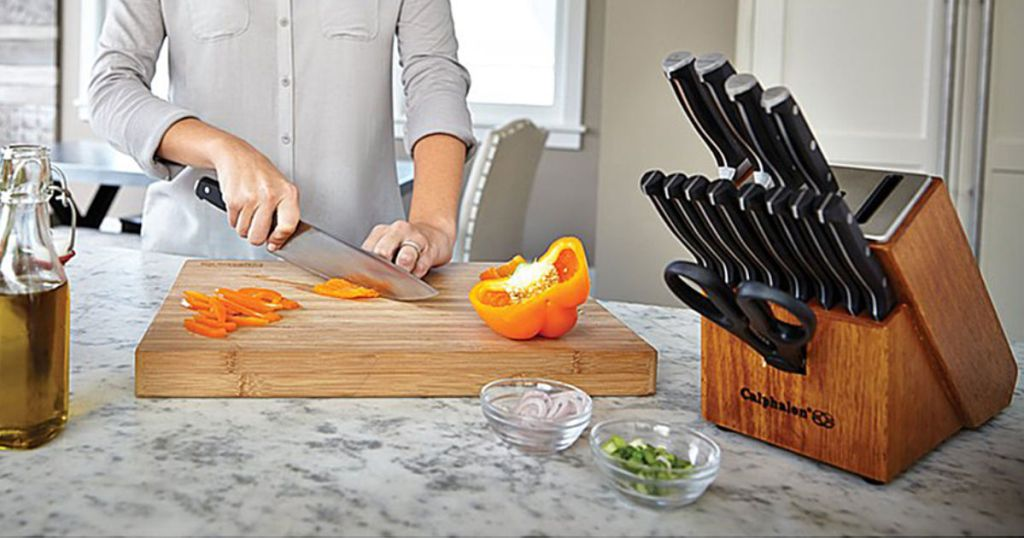 Calphalon Self-Sharpening Knife Set