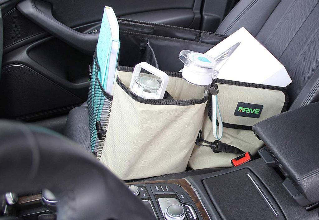 Car Organizer on car seat
