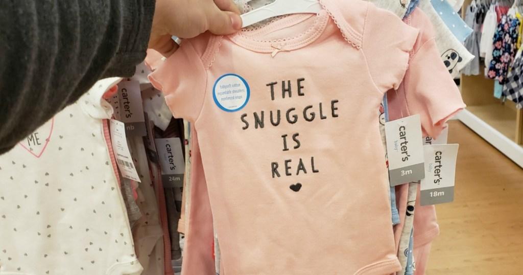 Carter's Baby Snuggle Onesie