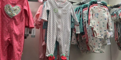 Up to 80% Off Carter's Baby Sleepwear + Free Shipping for Kohl's Cardholders