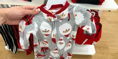 Carter's & OshKosh Holiday Pajamas as Low as $6.75 Shipped (Regularly $20+)