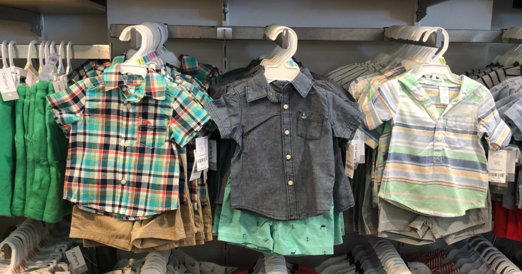 carters sets at store