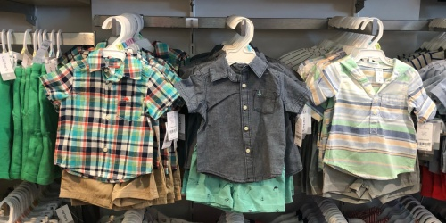 Up to 70% Off Carter's Baby Apparel + Free Shipping for Kohl's Cardholders