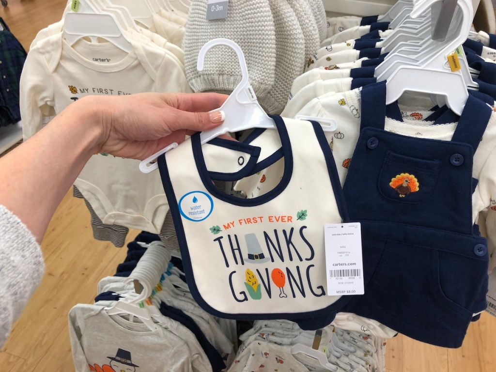 Carter's Thanksgiving Bib