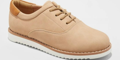 Up to 80% Off Kids Shoes at Target.com | Boys Dress Shoes Only $5.99 + More