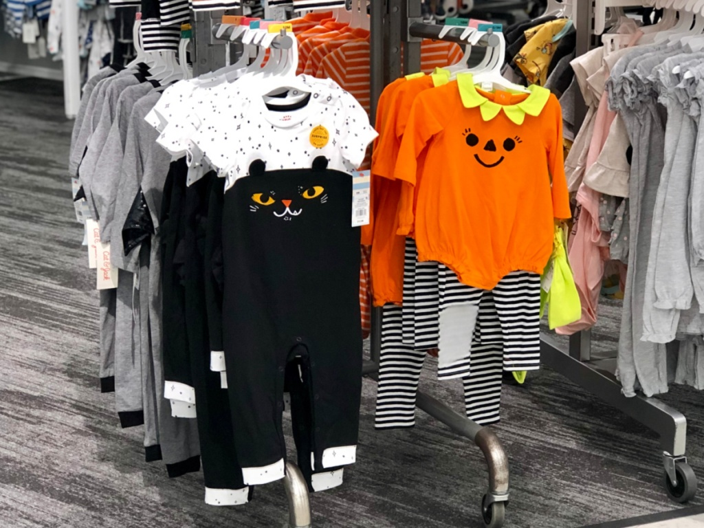 Cat & Jack Halloween Baby Apparel at Target