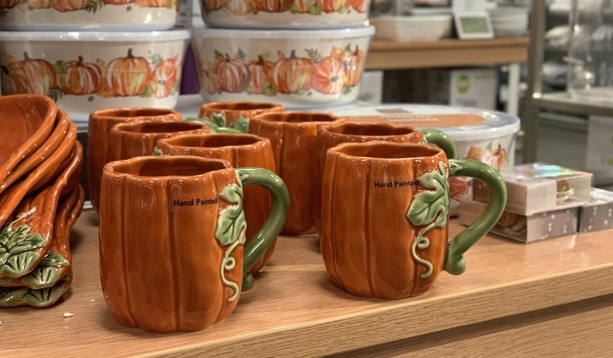 Celebrate Fall Together Pumpkin Mug