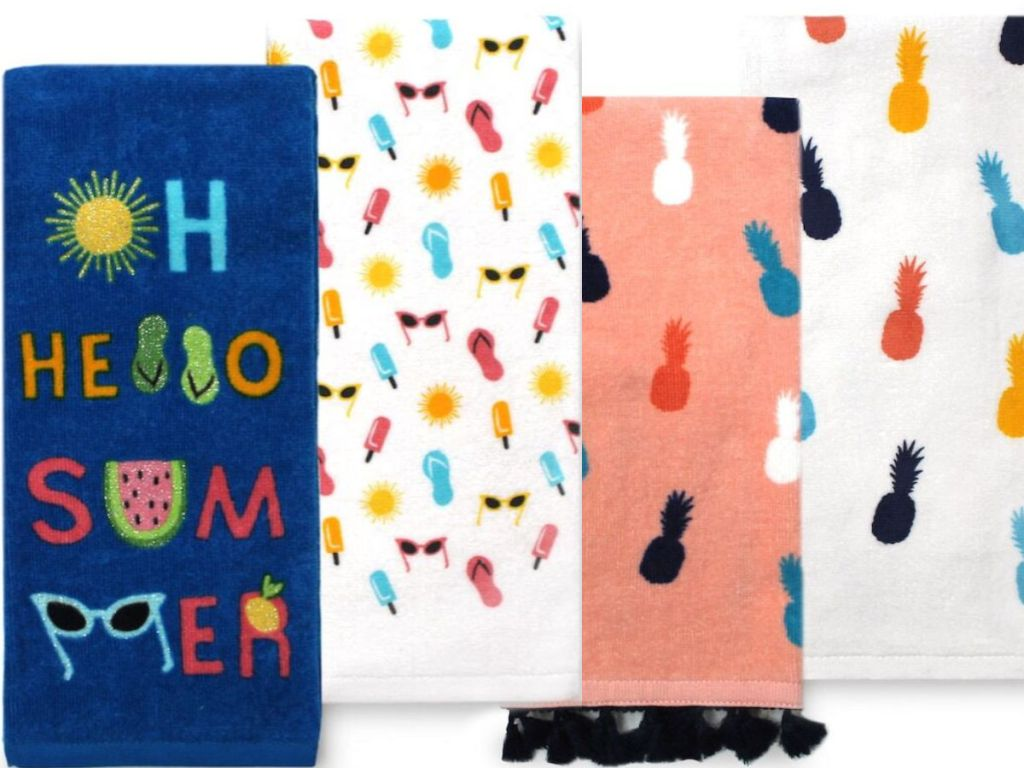 Celebrate Summer 2-pack kitchen towels