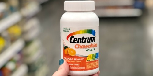 Centrum Multivitamins Just $2.74 Each After Target Gift Card