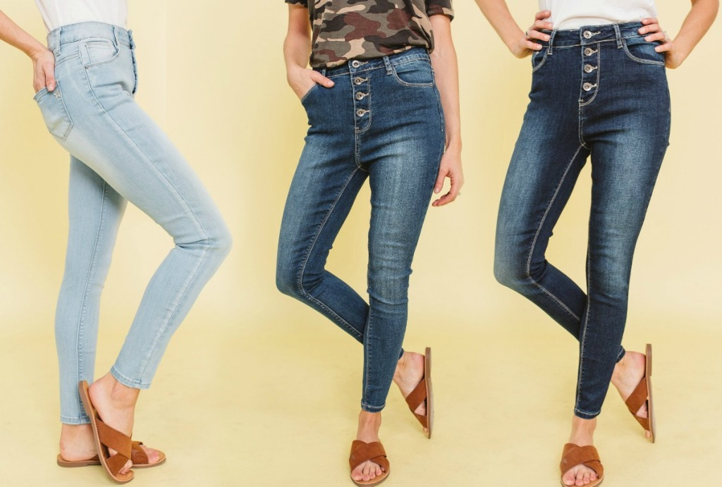 Cents of Style Jeans in three colors