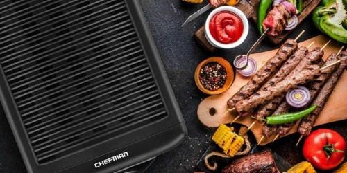 Chefman Indoor Smokeless Grill Only $19.74 (Regularly $50)