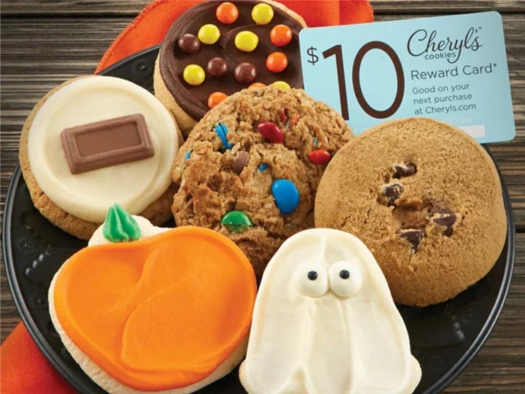 Cheryl's Halloween Cookie Sampler