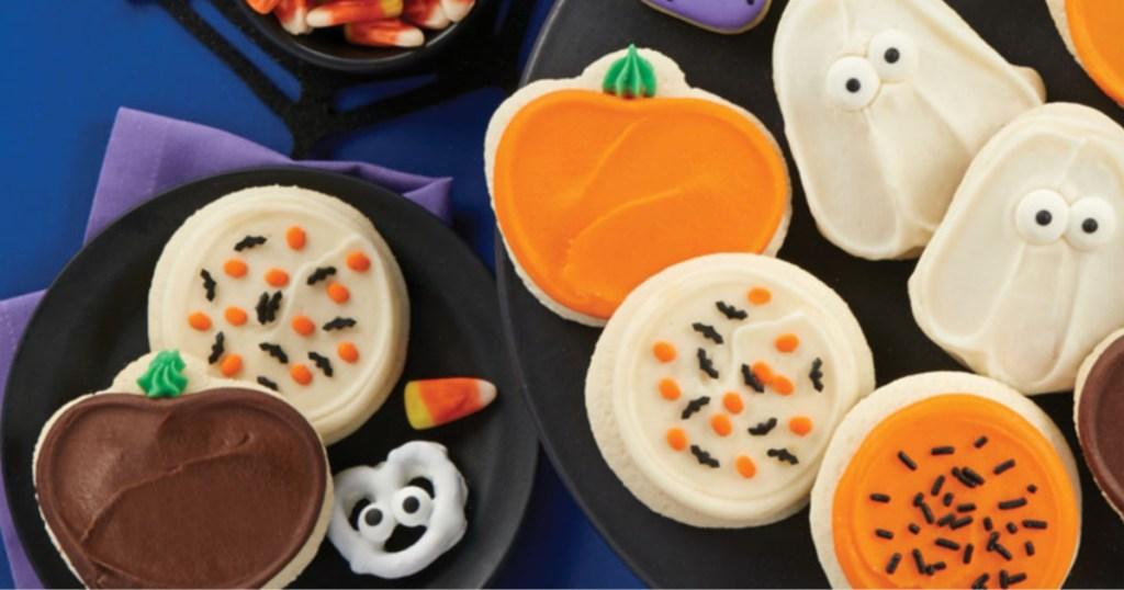 Cheryl's Halloween Sampler Cookies