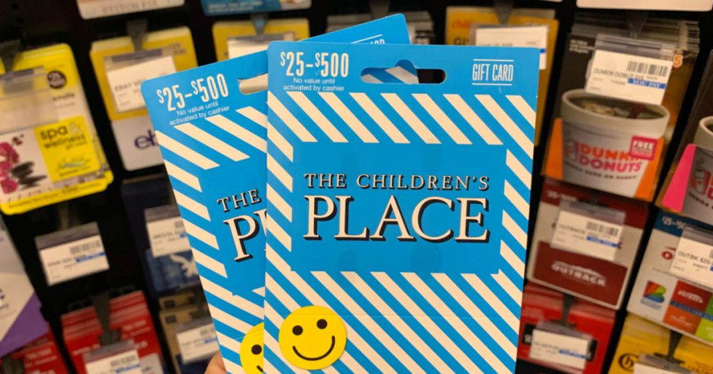 Gift cards to Children's Place