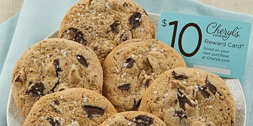 Cheryl's Cookies Chocolate Chip Sampler AND $10 Reward Card Only $9.99 Shipped