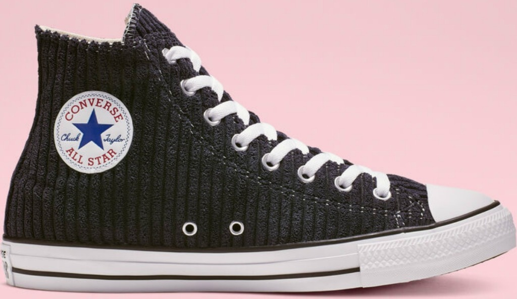 Unisex Chuck Taylor Shoes Converse textured in black