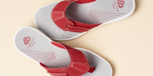 Clarks Women's Brinkley Sail Flip-Flops Only $24.93 at Macy's (Regularly $50)